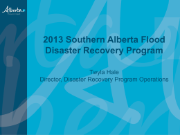 Introduction to Disaster Recovery - ESSNA