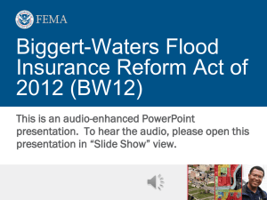 January 1, 2013 - The Association of State Floodplain Managers