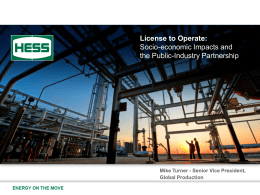 Hess: Bakken Operations… - North Dakota Petroleum Council