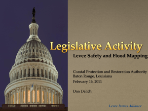 Levee - Coastal Protection and Restoration Authority