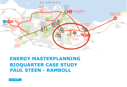 District Heating Masterplanning - Edinburgh BioQuarter