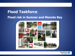 Flood Taskforce - Christchurch City Council