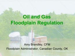 Oil and Gas Floodplain Regulation file