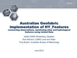 AHGF_HY_Features_Final - Open Geospatial Consortium