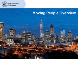Moving People Overview - Freight and Logistics Council of Western