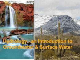 Hydrology - University of Colorado Denver