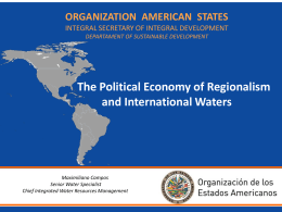 The Political Economy of Regionalism and International