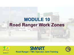 Road Ranger Work Zones