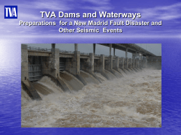 TVA Dams and Waterways