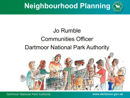 of neighbourhood planning