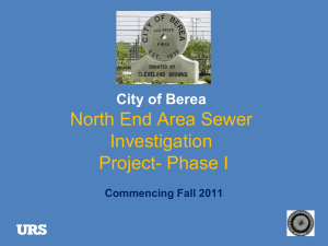 North End Area Public Meeting Presentation 10-18