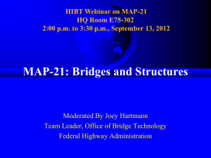 MAP21_Bridge Webinar 9-13-12 - National Association of County