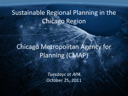 PowerPoint presentation  - American Planning Association