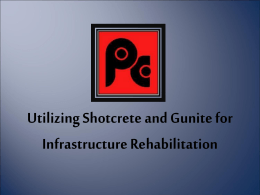 Shotcrete/Gunite
