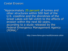 Coastal Erosion Lecture Material