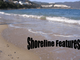 16.1 Shoreline Features