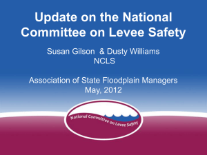 Developing a National Levee Safety Program
