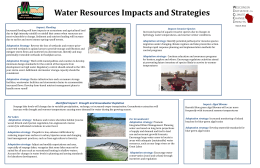 Water Resources Impacts and Strategies