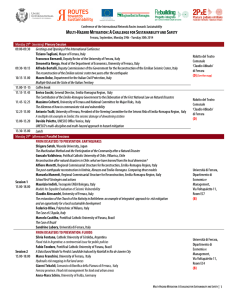 international conference program save the date
