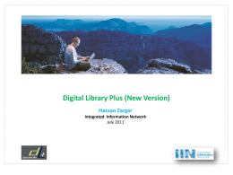 What`s Digital Library Plus