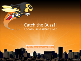 Catch the Buzz!! - localbusinessbuzz.net