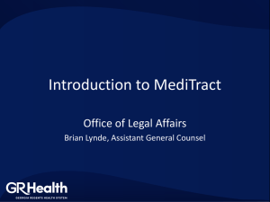 Introduction to MediTract