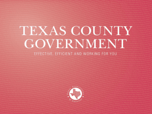 Texas County Government - Texas Association of Counties