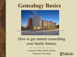PowerPoint - Laramie County Library System