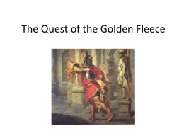 The Quest of the Golden Fleece Four Great Adventures