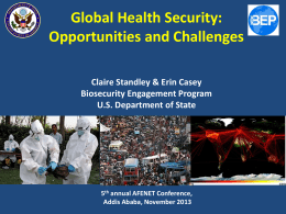 Global Health Security presentation