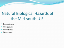 Biological Hazards of the Mid