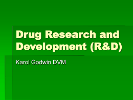 Drug Research and Development (R&D)