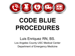 CODE BLUE….. - WordPress.com