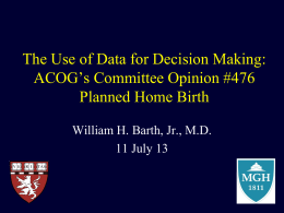 BarthSlides0713 - Association of Maternal & Child Health Programs