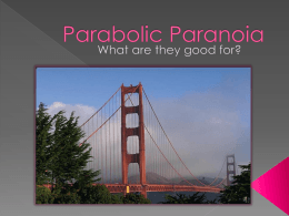 Parabola - Bridge Presentation