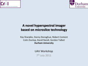 Advanced Microslice Technologies for Hyperspectral Imaging of the