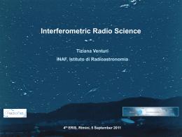 The uv plane - Istituto di Radioastronomia