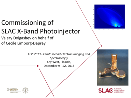 Commissioning of SLAC X-Band Photoinjector