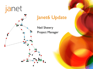 Janet 6 Presentation February 2013 by Neil Shewry