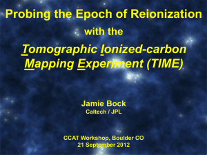 Probing the epoch of reionization with tomographic [CII]