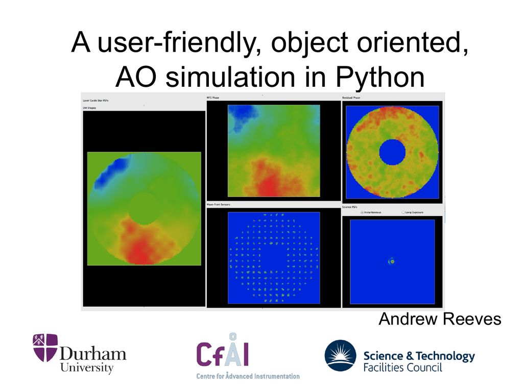 A user-friendly, object orientated, AO simulation in Python