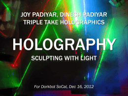 powerpoint - Triple Take Holographics