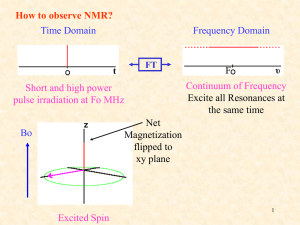 What is Multi-dimensional NMR Experiment