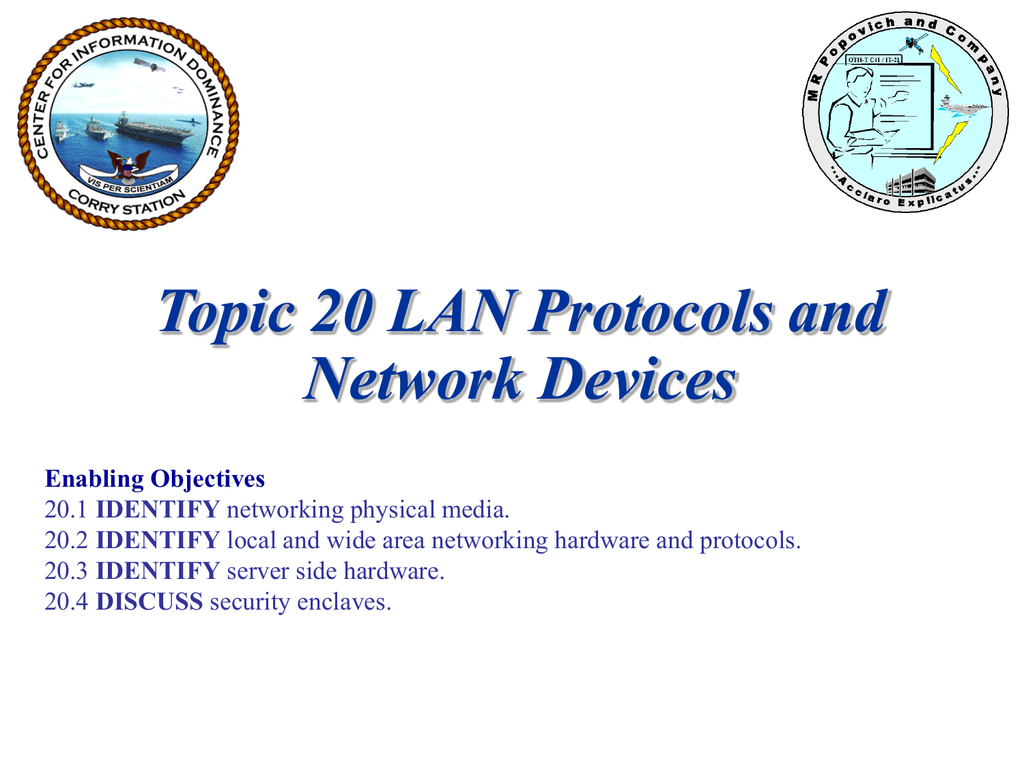 Topic 20 - LAN Protocols and Network Devices inst ppt 25