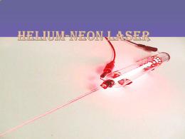 Helium-neon laser