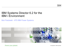 IBM Systems Director for IBM i 2011-01