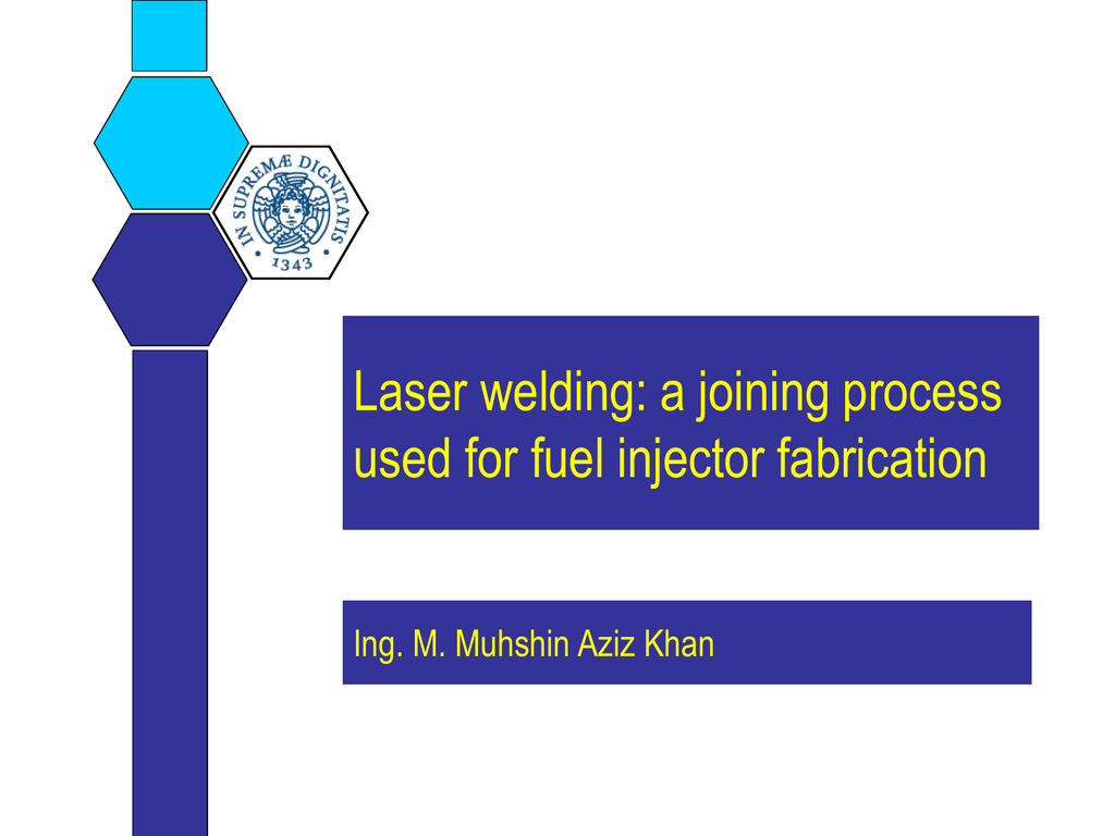 Laser Welding Of Stainless Steels Diagram
