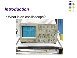 Oscilloscopes - ResearchGate