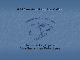 KLARA Amateur Radio Association