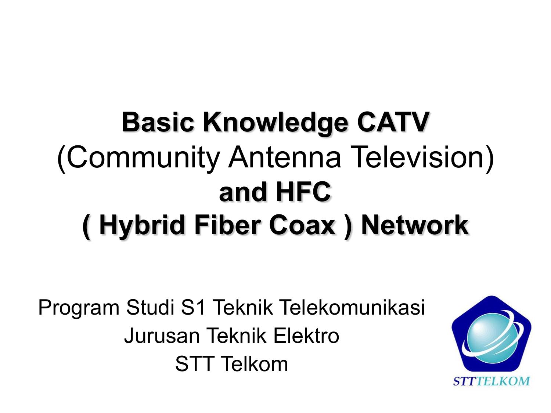 Basic Knowledge Hybrid Fiber Coax Network Hfc